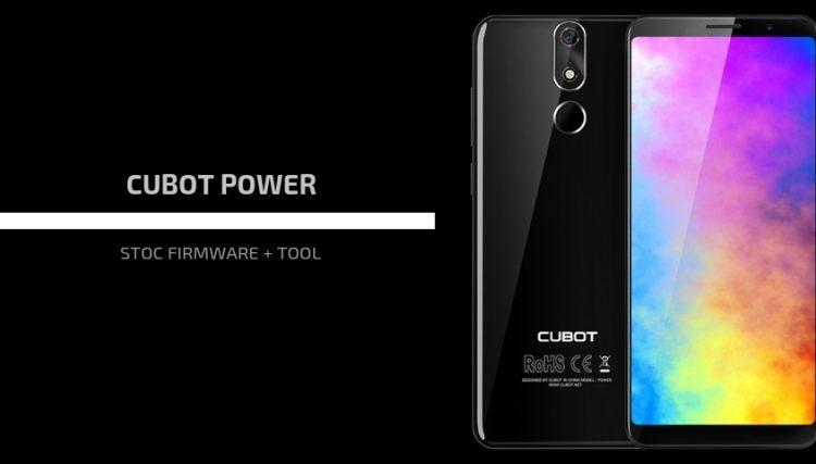 Cubot Power Firmware
