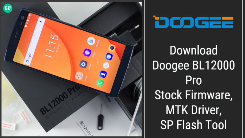Doogee BL12000 Pro Firmware