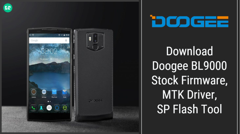 Doogee BL9000 Firmware With SP Flash Tool And Driver