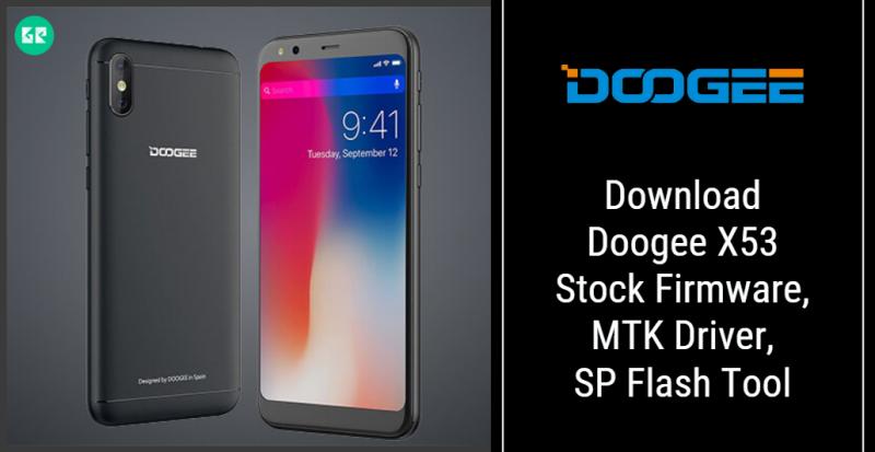 Doogee X53 Firmware