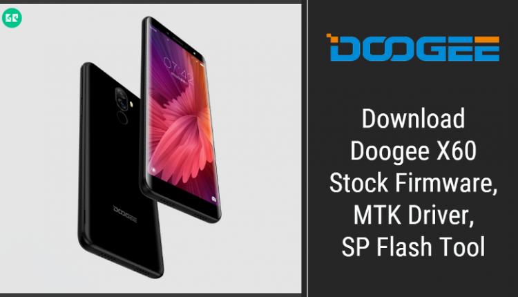 Doogee X60 Firmware