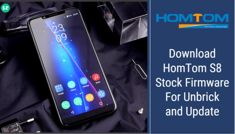 HomTom S8 Stock Firmware