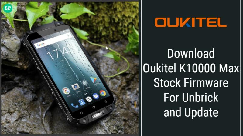 Oukitel K10000 Max Stock Firmware