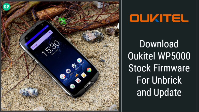 Oukitel WP5000 Stock Firmware