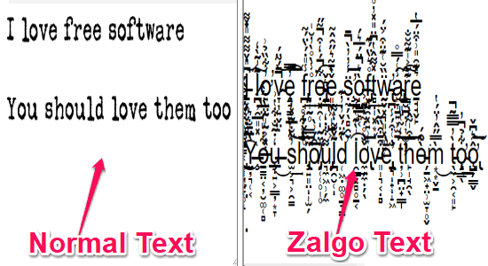 zalgo text generator - Best top 5 websites to convert your text into zalgo text
