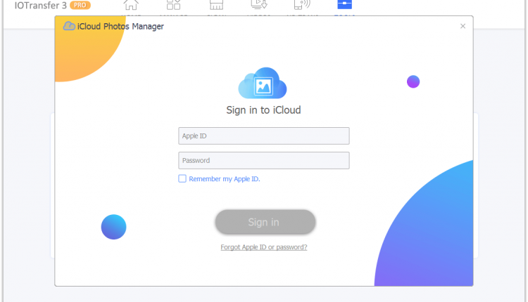 13. iCloud Photos Manager 750x430 - IOTransfer 3 - an Ultimate iPhone & iPad Manager for Windows And iOS