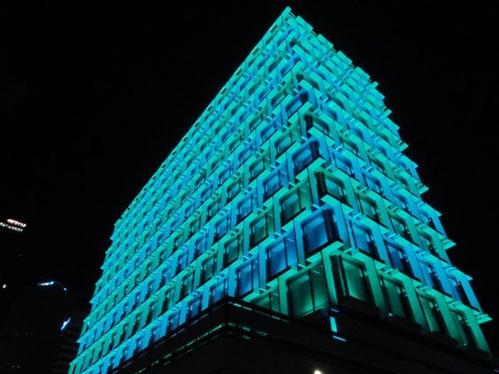 pic - 5 Architectural Infrastructure with Showstopping LED Strip Light Facade